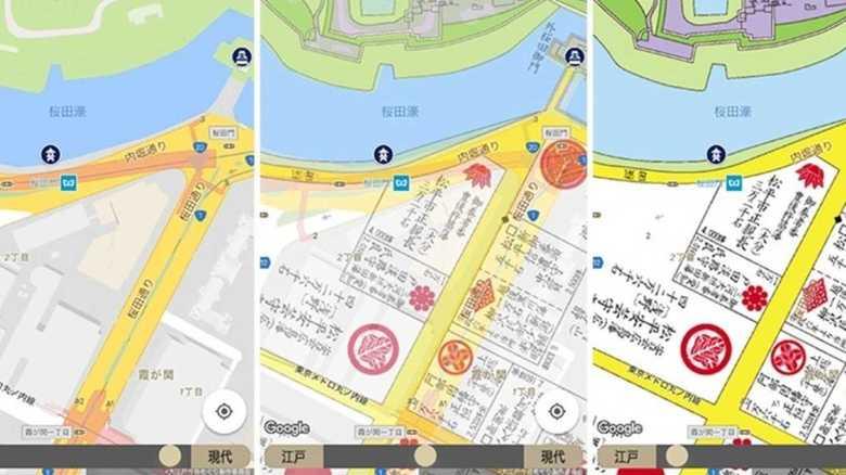 「江戸の古地図」をリアル縮尺で再現!いつもと違う初詣ができるかも