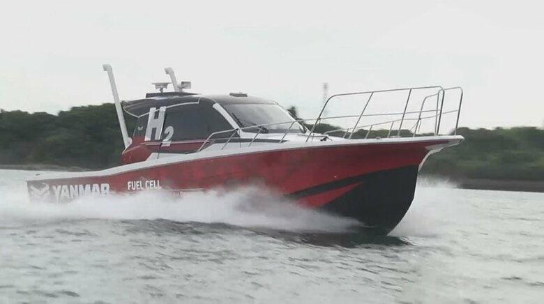 """「水素燃料電池船」で海の""""脱炭素""""へ トヨタとヤンマーがコラボ"""