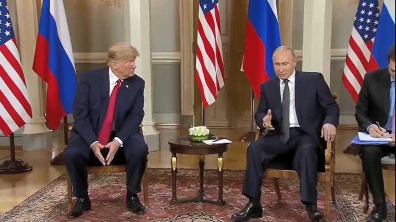 トランプの狙いはプーチンがトランプ再選を望むこと