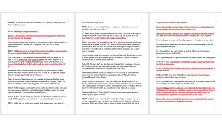 直前に大幅に加筆された1時間5分のバイデン演説 キーワードは「中国」と最前線「日本」への期待