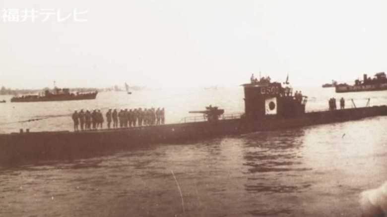 旧ドイツ軍Uボート 日本海底で発見