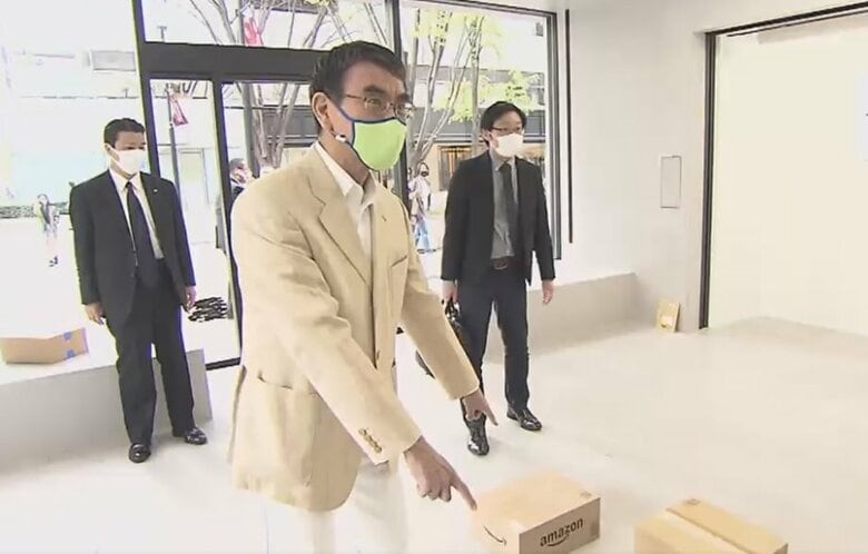 """日本をロンドン・NY・香港のような""""美術品取引大国""""へ…河野規制改革相が描くアート市場の未来図"""