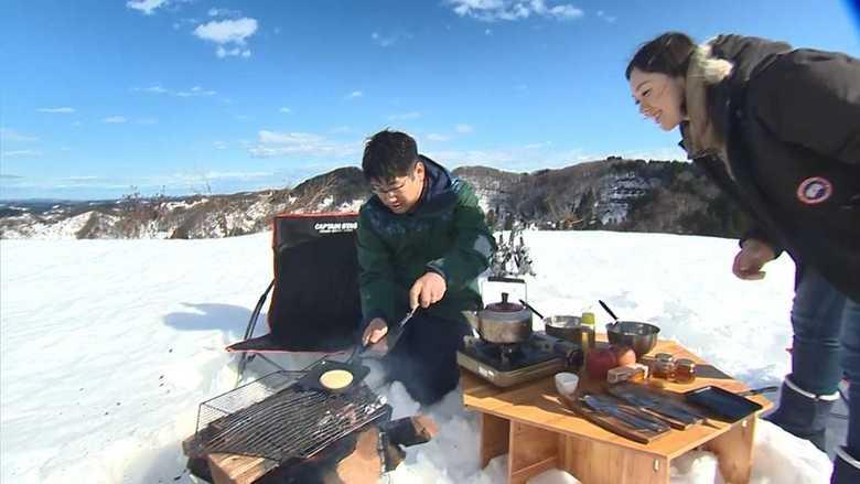 冬の非日常を体験できる雪上キャンプ!メープル採ってパンケーキ作りに挑戦してみた【新潟発】