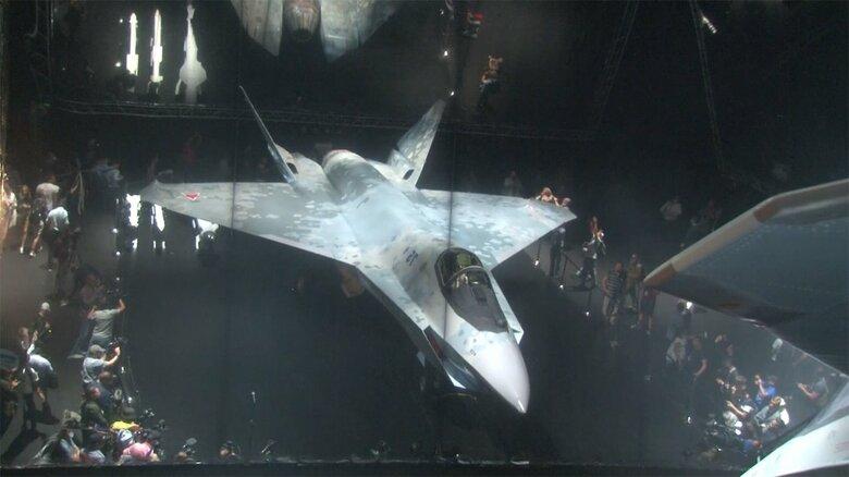 ロシアが新型の超音速ステルス機「チェックメイト」公開 最高速度はマッハ2