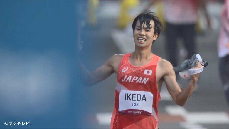 ラスト3キロのデッドヒート…陸上男子20キロ競歩は池田向希が銀メダル、山西利和が銅メダルのWメダル