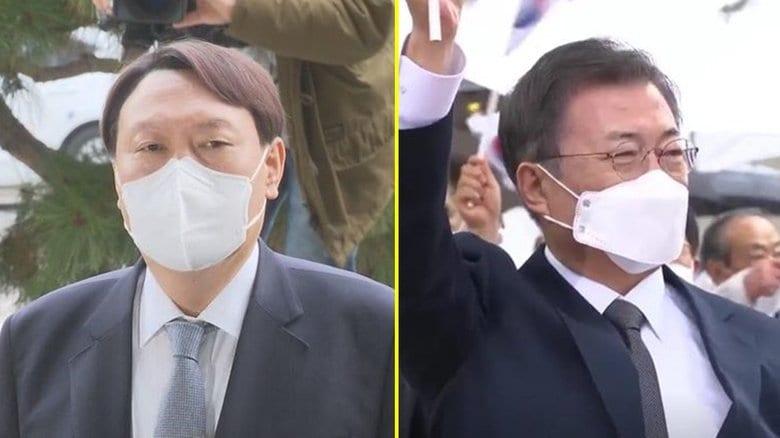 """「文在寅大統領よ、震えて眠れ」...あの""""天敵""""が韓国次期大統領候補トップに"""
