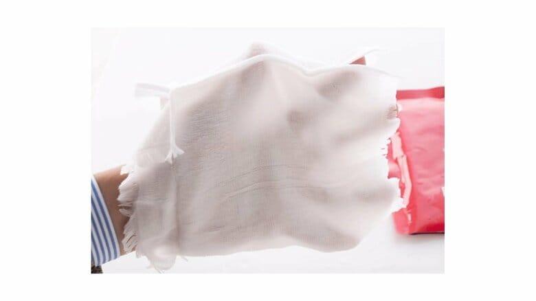 筒状で手の甲もカバー…火災が起きたときに備えておきたい「避難用レスキュータオル」
