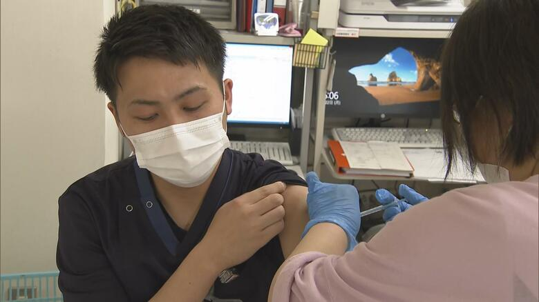 新型コロナワクチン 大分県内でも先行接種始まる