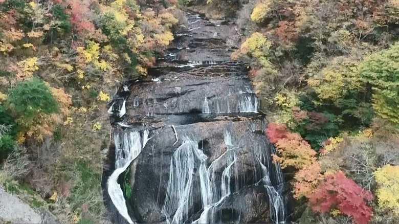 思わず足が止まる…「日本三名瀑」美しい滝がアートに!