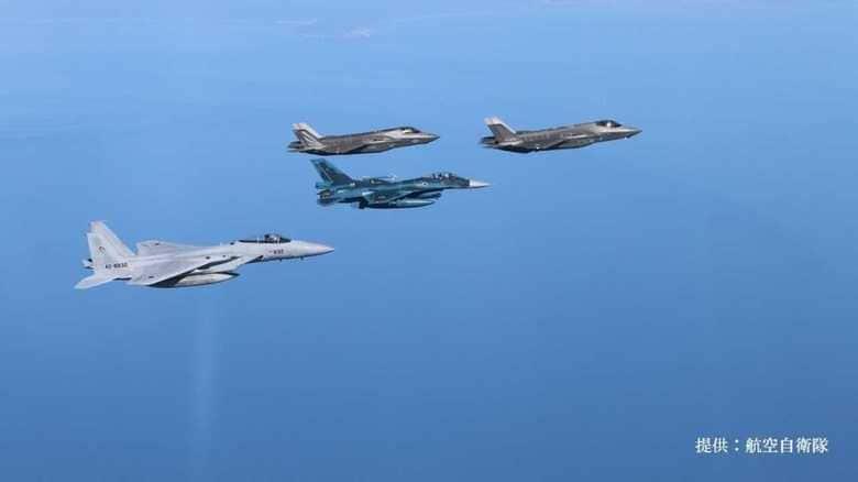 空自F-35Aと米海兵隊F-35B、日米のステルス戦闘機による共同訓練の意味
