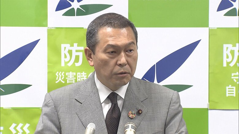 【速報】小此木国家公安委員長が辞表提出…横浜市長選に立候補のため