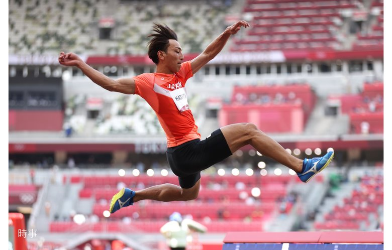 走り幅・橋岡優輝メダル獲得ならず 「4年後に向けていいスタートできた」