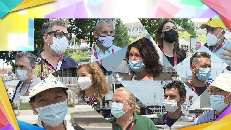 各国の海外記者ら「暑すぎる」 東京五輪開幕前に悲鳴