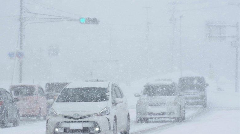 視界が一面真っ白になる「ホワイトアウト」…遭遇したらどうする?運転時の対処法を専門家に聞いた