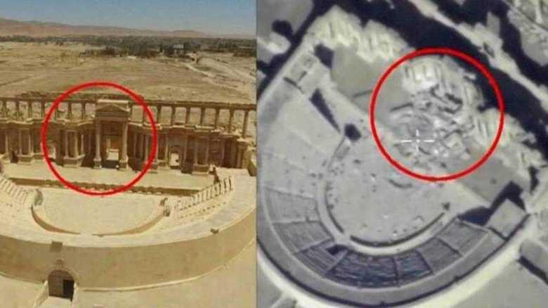 IS=イスラム国 古代ローマ時代のパルミラ遺跡を破壊