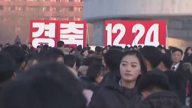 """知られざる""""北のクリスマス""""…キリスト教は禁教のはずが北朝鮮でも12月24日は「お祭り騒ぎ」のワケ"""