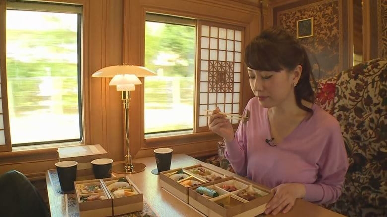 "JR九州の豪華観光列車「36ぷらす3」…畳敷きの""和モダン""個室やミシュランの味など魅力満載"