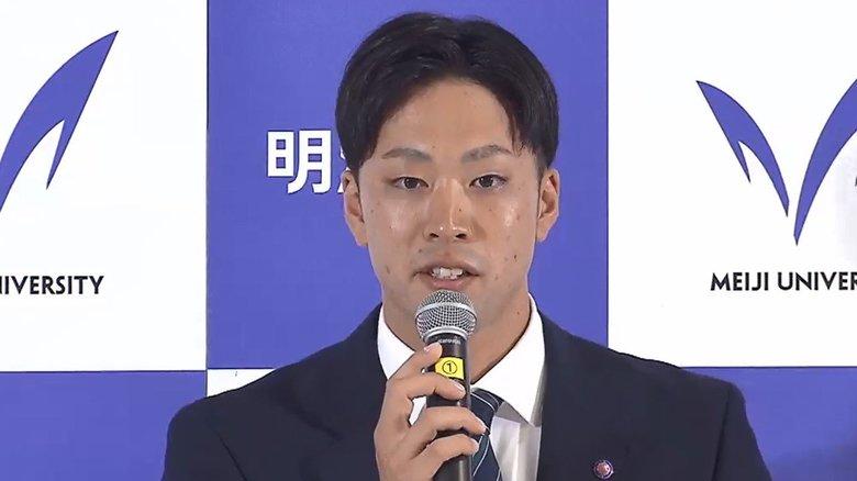 DeNAは明大・入江大生を単独1位指名「今井達也に投げ勝つ!」