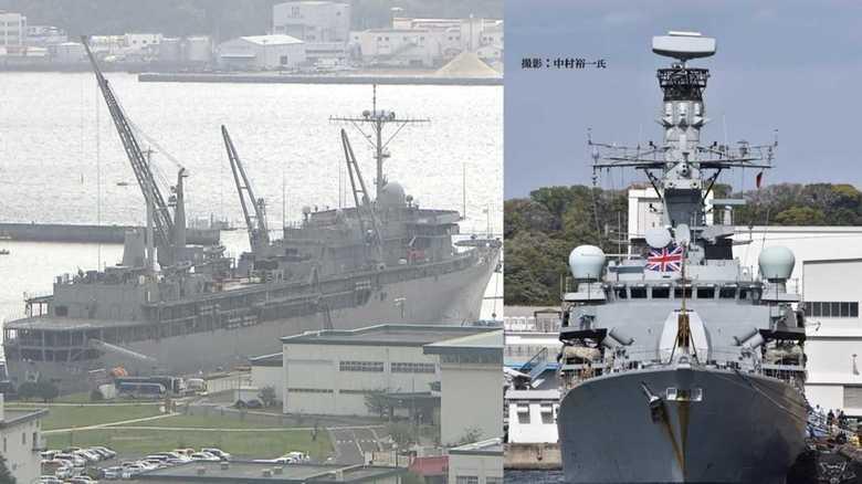北朝鮮を視野に米・英海軍の静かな動き
