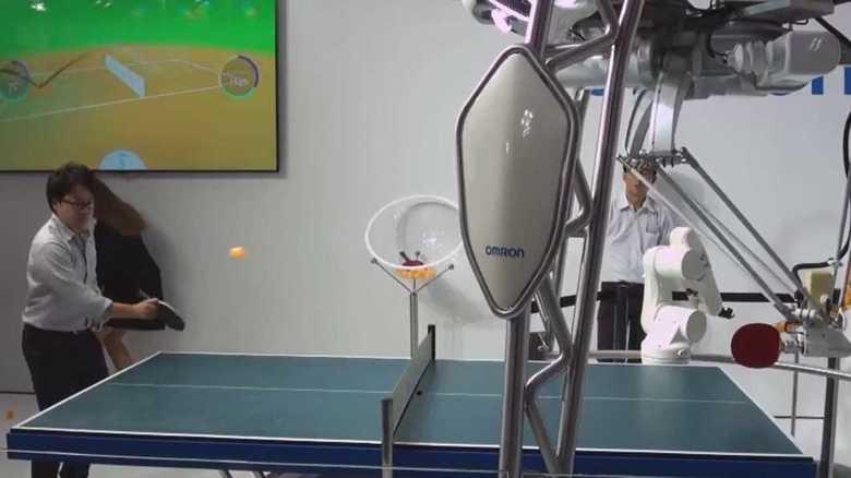 """卓球ロボット!""""匠の技術""""を伝承するAI! 世界のIoT技術がドイツに集結"""