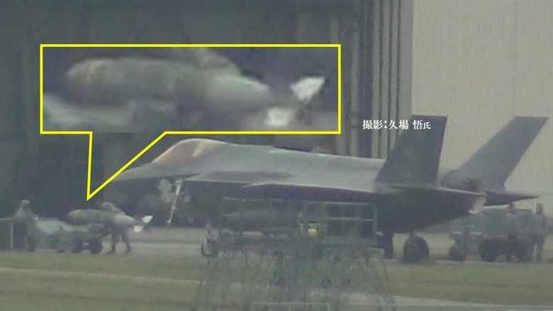 半島情勢を牽制か。嘉手納訓練で、米F-35AがGPS誘導爆弾の実弾搭載