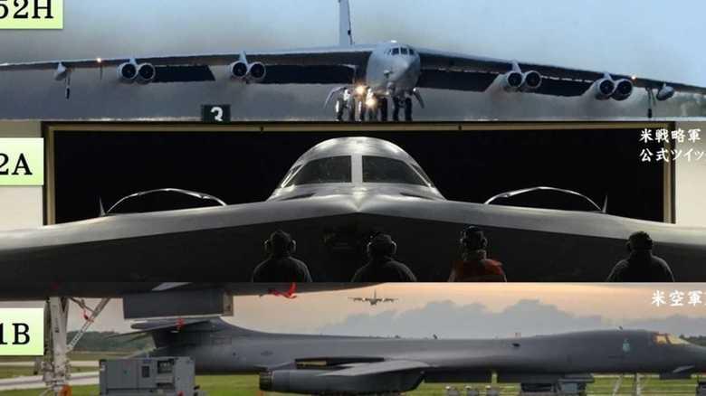 戦略爆撃機B-52Hが上空から標的の上に投下する核爆弾搭載をやめる日