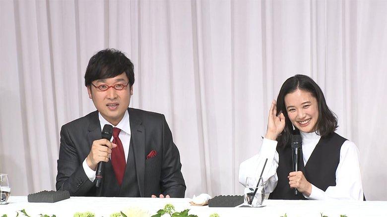 【速報その2】蒼井優・山里亮太 結婚会見 プロポーズの言葉と蒼井さんのご両親へのあいさつ