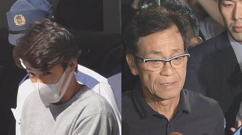 清水アキラさんが三男・良太郎(32)容疑者逮捕にコメント「誠心誠意 罪を償ってほしい」 夫婦げんかで妻を家具に叩きつけ…