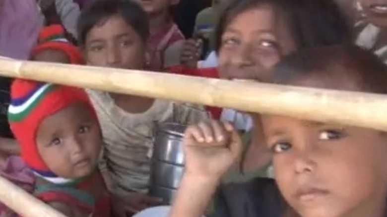 「ミャンマー軍が僕を撃った」ロヒンギャ難民の子供たちの声