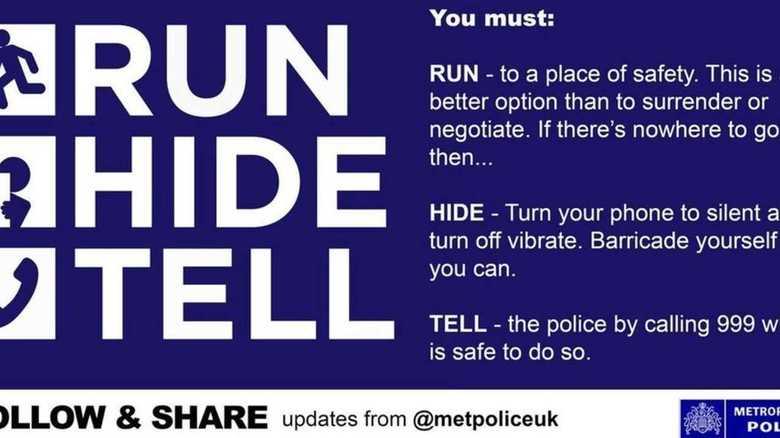ロンドン同時テロで6人死亡。「テロに遭遇したらすべきこと」を警察が公開