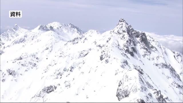 北アルプス・槍ヶ岳で遭難 男性3人が心肺停止 周辺は視界不良 「ホワイトアウト」に近い状態
