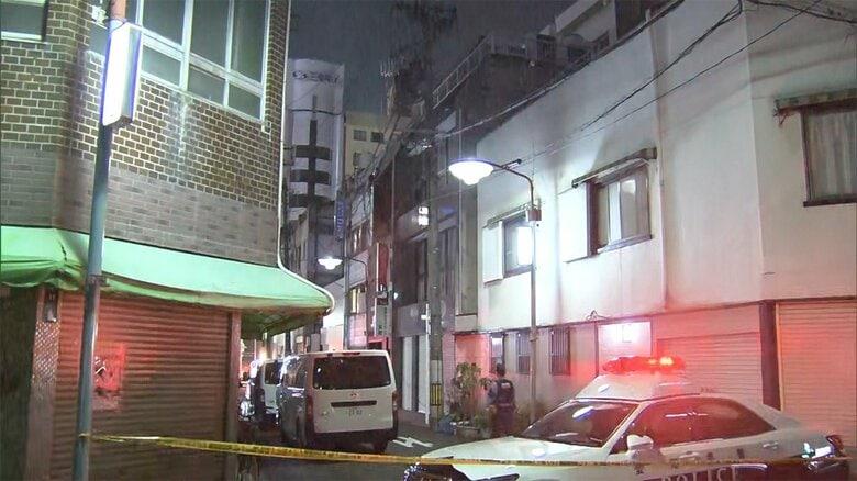 名古屋市内の集合住宅 住人3人襲われ1人死亡