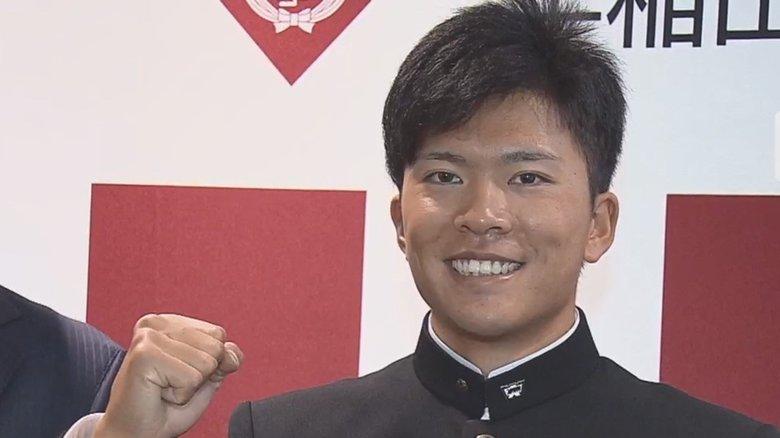 楽天ドラ1の早大・早川隆久「輝き放つ選手に!」