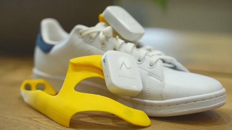 ホンダのエンジニアが開発 足が振動秘密は靴の中 視覚障害者向け歩行支援ナビ「あしらせ」
