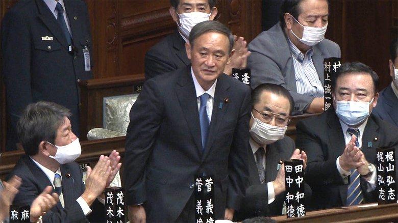 【速報】衆参両院で指名 第99代 菅首相が誕生