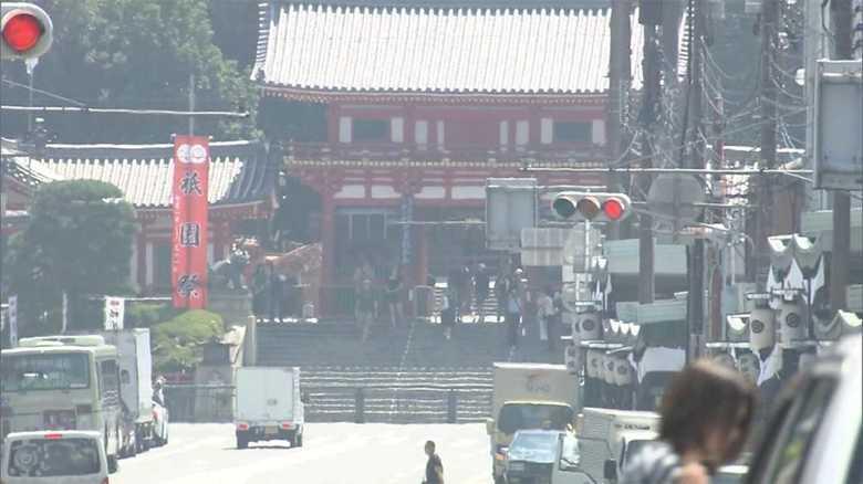あえてアツアツの湯豆腐!?記録的猛暑の京都を訪れた外国人観光客は大丈夫?