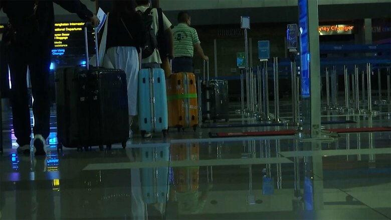"""""""深刻感染""""インドネシアから帰国の男性 「隔離生活」の実態語る"""