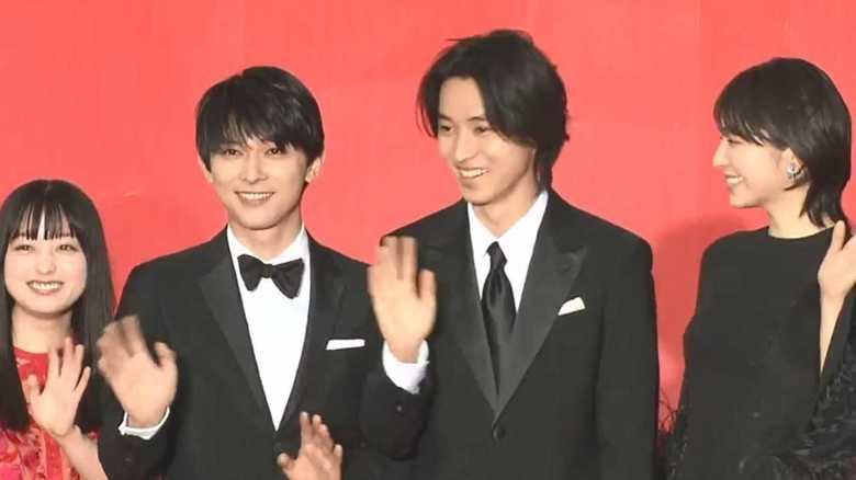 映画『キングダム』完成披露に山﨑賢人・吉沢亮「橋本環奈ちゃんはかわいかった」