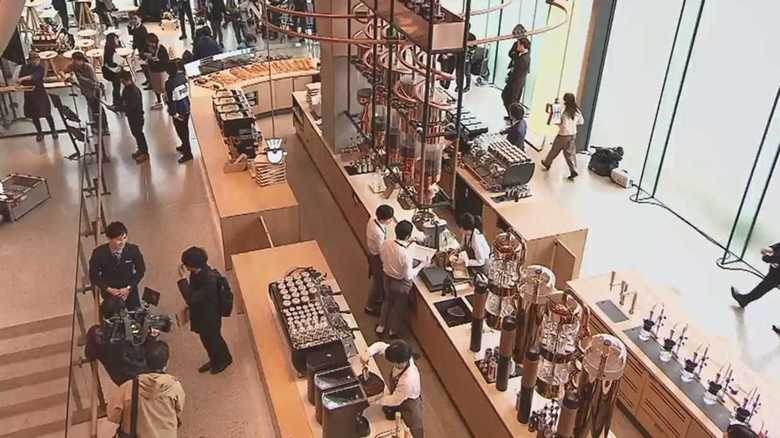 """「スタバ」高級大型店が日本上陸!ここでしか味わえない""""コーヒー体験""""とは?"""