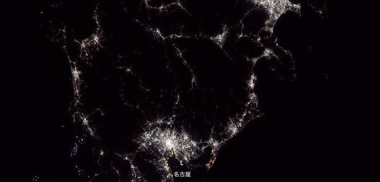 民生機初!宇宙ステーションから4K画質で撮った日本列島が美しい