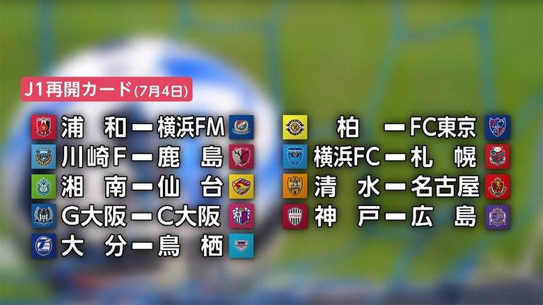 Jリーグ再開 対戦カード発表 無観客でも声援 リモート応援