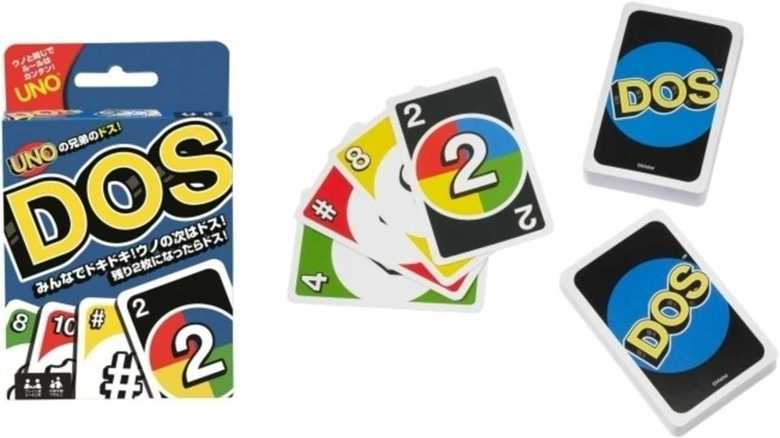 """ついに日本上陸!カードゲーム「UNO」の兄弟「DOS」は、より""""戦略的""""らしいぞ"""