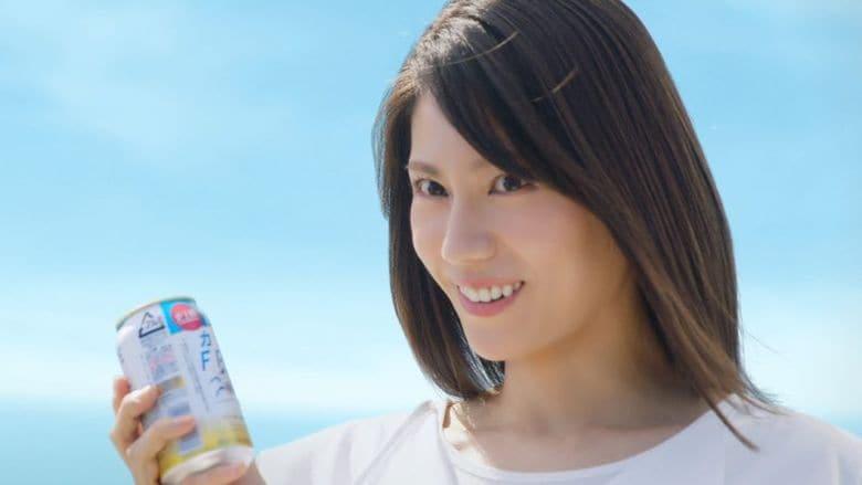 松下奈緒 新成人に「大人を楽しんで」とエール  お腹まわりの脂肪を減らすノンアルコール飲料に驚き顔