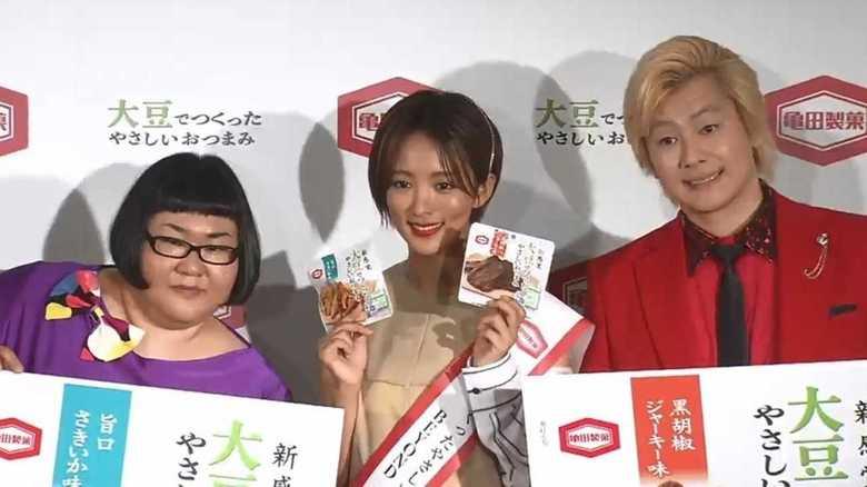 朝ドラ女優の素顔…夏菜コンビニで「爆買い爆食」!? メイプル超合金「え~!」