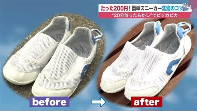 子供の上靴も20分でピッカピカ 靴用のコインランドリーで丸洗い