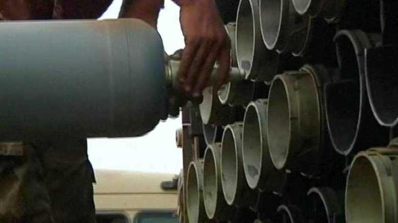 イラク軍TOS1-Aロケット弾装填映像公開の意図は?