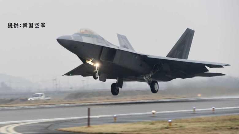 米韓演習にF-22Aラプターはじめ230機、並行して米豪演習開始