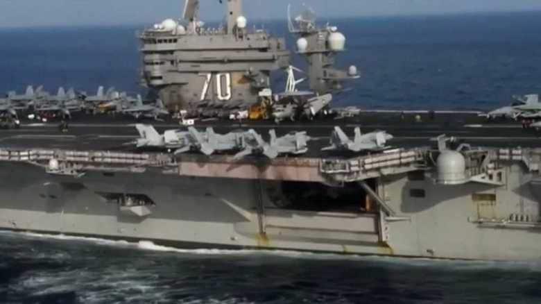 信頼失墜や北朝鮮暴発も…空母「カール・ビンソン」展開の落とし穴