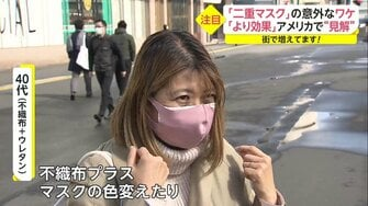 付け方 二 重 マスク