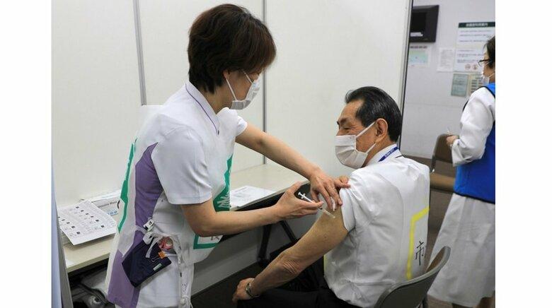 神奈川・逗子市 新型コロナワクチンの「集団接種の流れ」を公式ホームページで紹介